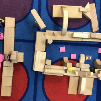 Unit block castle